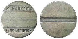 04293 GETTONE TOKEN JETON MACHINE ELECTRONIC SUPPLY M. HOLTKAMP OSNABRUCK - Firma's