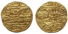 Sultani 926AH - Süleyman I (Ottoman Empire - Halab) Gold - Syria