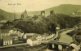 Esch Sur Sûre (panorama 'vert', Verlag J N Demuth 1912) - Esch-sur-Sure