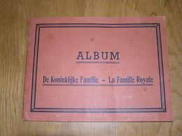 LA FAMILLE ROYALE Rare Album Chromos !!! DE KONINLIJKE FAMILIE België Belgique Chromo Confiserie VERDONCK Veurne Furnes - Other