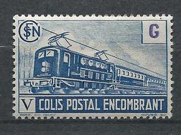 FRANCE - 1945 - Colis Postaux - Y.T. N°224B - 6 F. 6 Bleu - Colis Encombrant - Neuf* - TTB - Mint/Hinged