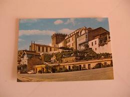 Postcard Postal Portugal Chaves Casas Típicas E Castelo - Vila Real