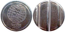 00228 GETTONE TOKEN JETON MACHINE MMC MILANO ITALY MAGGI CONIATURE 3 GROOVES - Italy