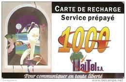 *HAITI* - Scheda Usata - Haiti