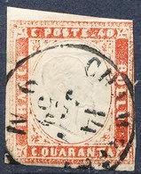 Stamp ITALY STATES SARDINIA  1855-1863 Used - Sardegna