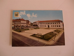 Postcard Postal Portugal Chaves Palácio Da Justiça Na Praça Do Arrabalde - Vila Real