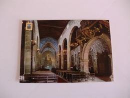 Postcard Postal Portugal Chaves Interior Da Igreja Matriz - Vila Real