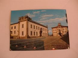 Postcard Postal Portugal Chaves Museu E Câmara Municipal - Vila Real