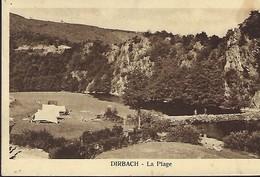 DIRBACH-LA PLAGE  -  Haute Sûre - Camping   Photo Charles Marsldt,Luxembourg-Gare  2 Scans - Otros