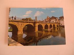 Postcard Postal Portugal Chaves Ponte Romana Sobre O Rio Tâmega - Vila Real
