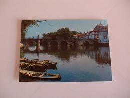 Postcard Postal Portugal Chaves Ponte Romana Sobre O Tâmega - Vila Real