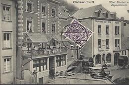 Clervaux  ( Clerf )Hôtel Koener Et Dépendances   Photo M.Bellwald,Echternach  2 Scans - Cartes Postales