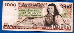 Mexique  - 1000 Pesos  25/3/1982  -  Pick # 76  -- état  TB+ - Mexico