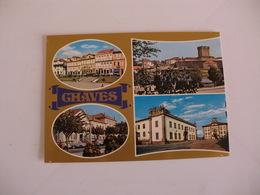 Postcard Postal Portugal Chaves Diversos Aspectos - Vila Real