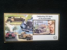 St Vincent 100 Years Of Automobiles $6 S/S Mint - St.Vincent (1979-...)