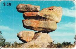 ZIMBABWE(chip) - Suspended Rocks, Exp.date 05/00, Used - Simbabwe