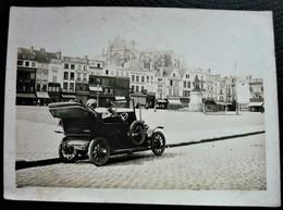 Photo Ancienne - Voiture Sur La Place De I'Hotel De Ville à Beauvais ( 60 Oise ) - Cars