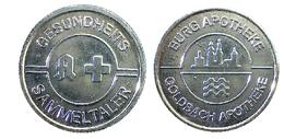 03729 GETTONE TOKEN JETON VENDING APOTHEKEN TALER BURGAPOTHEKE GOLDBACH - Germany