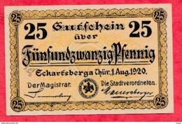 Allemagne 1 Notgeld De 25 Pfenning Stadt Eckartsberga UNC  N °3859 - Collections