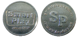 03817 GETTONE TOKEN JETON TURKEY GAMING SCANOMAT SMART PLAY  AKILLI OYUM - Unclassified