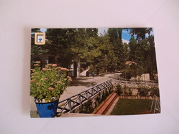 Postcard Postal Portugal Pedras Salgadas Avenida Lopes De Oliveira - Vila Real