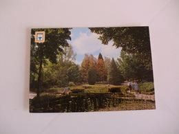 Postcard Postal Portugal Pedras Salgadas Jardim Do Casino - Vila Real