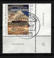 BUND Mi-Nr. 2819 Eckrandstück Rechts Unten Tag Der Briefmarke Gestempelt - BRD