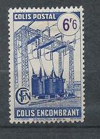 FRANCE - 1945 - Colis Postaux - YT N°233 - 6 F. 6  Outremer Et Violet - Colis Encombrant - Avec Filigrane A - Neuf* TTB - Mint/Hinged