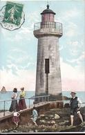 SAINT NAZAIRE Phare Ville és Martin Collection Delaveau N°35 1908 - Saint Nazaire