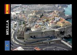 Melilla La Vieja Fortress Aerial View New Postcard - Melilla