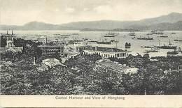 Pays Div -ref T329- Chine - China - Hong Kong - Central Harbour And View Of Honk Kong  - - China (Hong Kong)