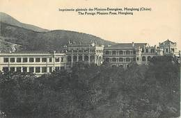Pays Div -ref T327- Chine - China - Hong Kong - Imprimerie Generale Des Missions Etrangeres -foreign Missions Press - China (Hong Kong)