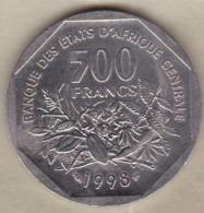 Banque Des États De L'Afrique Centrale (BEAC) 500 Francs 1998 - Coins