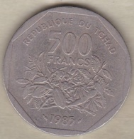 Tchad 500 Francs 1985 Banque Des États De L'Afrique Centrale - Tsjaad