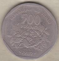 Tchad 500 Francs 1985 Banque Des États De L'Afrique Centrale - Chad