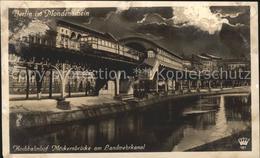 41787041 Berlin Hochbahnhof Moeckernbruecke Am Landwehrkanal Berlin - Germany