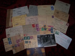 Lot De Documents Et Papiers Divers Allemand Guerre De 1940/45....... - Documentos