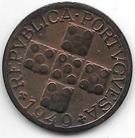 Portugal 20 Centavos 1949 Km 584   Xf !!!!! Look  !!!!!! - Portugal