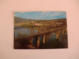 Postcard Postal Portugal Régua Ponte Sobre O Rio Douro - Vila Real