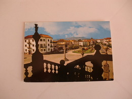 Postcard Postal Portugal Vila Real Avenida Carvalho Araújo E Pelourinho - Vila Real