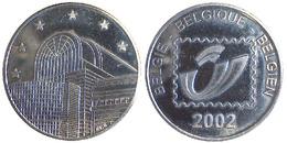 02665 GETTONE TOKEN JETON BELGIE TOURISTIC 2002 - Unclassified