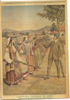 CP Illustrée, Le Petit Journal 1908, Serbie, Femmes Serbes Apprenant Le Maniement Des Armes - Old Newspaper - Serbia