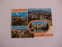 Postcard Postal Portugal Vila Real Diversos Aspectos Recordação - Vila Real