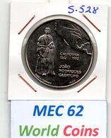 MEC 62 - / République Portugaise / Commémorative 200 Escudos 1992 / California 1542 / - S.530 - Portugal
