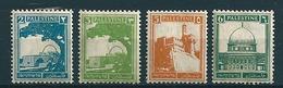 Palästina 1927/41  4 Werte Ex  Mi-Nr. 52/73  Falz /* MH - Palästina