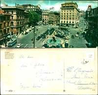 12018a)cartolina -   Roma Piazza Barberini - Places & Squares
