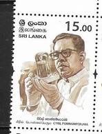 SRI LANKA, 2019,SCIENTISTS, CYRIL PONNAMPERUMA, CHEMICAL EVOLUTION,1v - Chimie