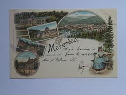 Czech M36  Marienbad 1898 Litho Nr 165 Ed Winkler - Czech Republic