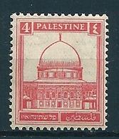Palästina 1927/41  4M Rosa  Mi-Nr. 54  Falz /* MH - Palestine