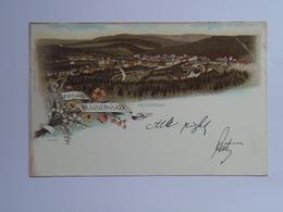 Czech M35  Marienbad Marianske Lazne 1898 Litho - Czech Republic